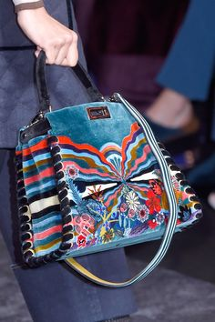 A bag from Fendi's fall 2016 collection, Photo: Imaxtree.