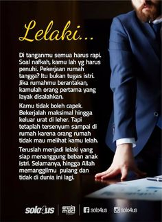 Islamic Inspirational Quotes, Islamic Quotes, Motivational Quotes, Wife Quotes, Words Quotes, Sabar Quotes, Jodoh Quotes, Cinta Quotes, Learn Islam