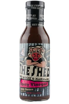 The Shed BBQ Store - The Shed BBQ Spicy Vinegar Sauce, $3.99 (http://store.theshedbbq.com/the-shed-bbq-spicy-vinegar-sauce/)