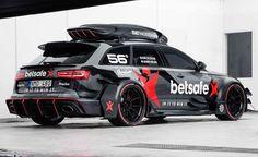 Este es el espectacular Audi RS6 DTM de Jon Olsson preparado para la Gumball 2