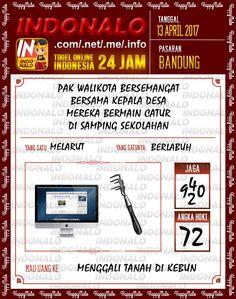 Hoki 3D Togel Wap Online Indonalo Bandung 13 April 2017