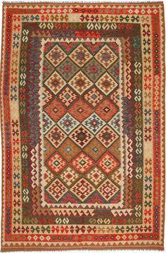 Kelim Afghan Old style tapijt 199x297