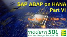 """New Age Open SQL ABAP 740 In this article, we would take a break from HANA. We would pause and check what is available in Open SQL. Why is it called Open? Open means """"… Fall Out 4, Learn To Code, We Can Do It, New Age, Hana, Star Wars, Hyderabad, Backyard, Patio"""