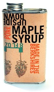 maple syrup with great packaging
