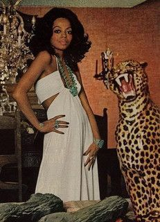 Diana Ross by Willy Rizzo for Harper's Bazzar, April 1973