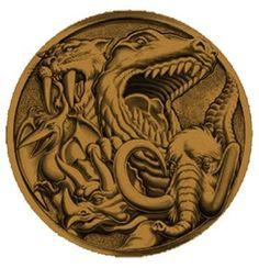 Mighty Morphin Dino emblem