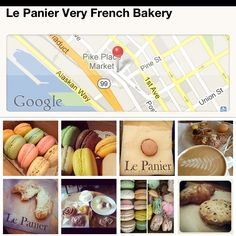 Le Panier : Very French Bakery. Seattle, WA.  Why have we never gone here when we have been in PPM on vacation? <3 __ <3