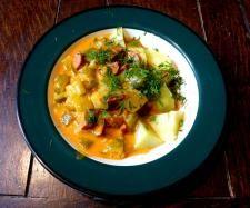 Rezept Schmorgurken mit Cabanossi von Jasperfive - Rezept der Kategorie Hauptgerichte mit Fleisch