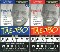 Old School with Billy Blanks Tae-Bo - The original and still the best - It's my go-to work out!!