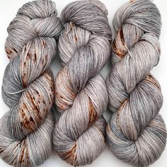 A personal favorite from my Etsy shop https://www.etsy.com/ca/listing/541500803/hand-dyed-yarn-rusty-bucket-grey-brown
