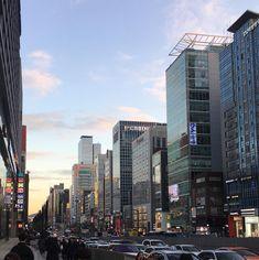 😍gangnam #seoul #korea Seoul Skyline, Seattle Skyline, Gangnam Seoul, Restaurant Concept, I Want To Travel, City Lights, South Korea, Dusk, San Francisco Skyline