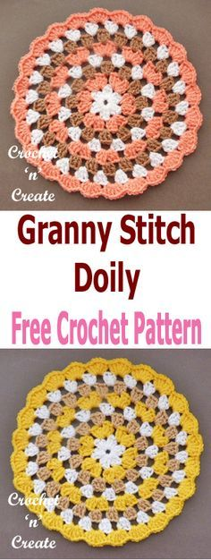 A crochet granny doi