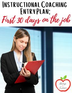 If you don't have an entry plan going into your role as an instructional coach then the first thirty days on the job can be taxing. This post will provide a roadmap for those who have recently been hired as an instructional coach, are switching campuses or are looking for a stronger way to begin the year. Teacher Blogs, Teacher Pay Teachers, School Resources, Teaching Resources, Teaching Ideas, Instructional Coaching, How To Gain Confidence, Elementary Teacher, Professional Development