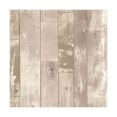 Heim Grey Distressed Wood Panel Wallpaper 38 Liked On Polyvore Featuring