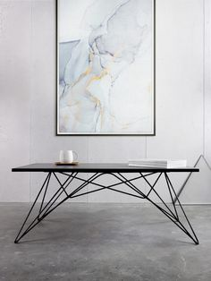S2_1B_m Pop Display, Industrial Table, Metal Furniture, Ping Pong Table, Eames, Dining Room, Woodworking, Iron, Steel