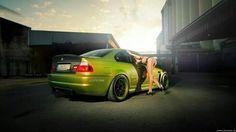 BMW E46 M3 green