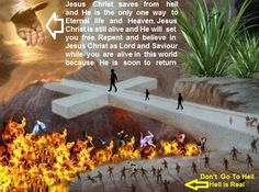Jesus Christ Saves From Hell