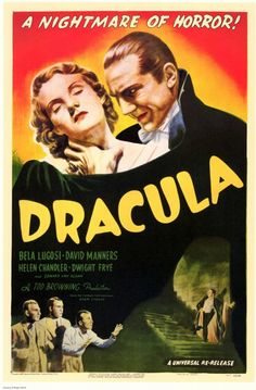 Bela Lugosi as COUNT DRACULA ~ This 1931 Classic put Lugosi on the Map !