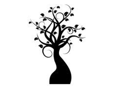 Resultado de imagen de arbol sencillo para decorar paredes