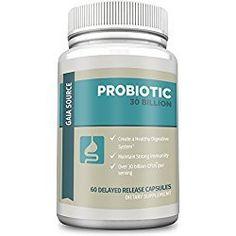 Gaia Source Probiotic Dietary Supplement, 60 Capsules