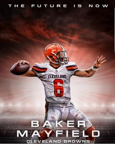 639121caaa BAKER!!!!! Nfl Browns, Cleveland Browns Football, Cleveland Browns History