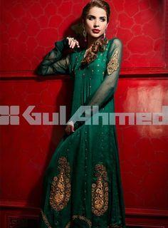 Gul Ahmed  Dark Green