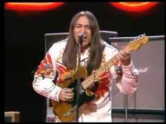 """▶ Redbone - """"Come And Get Your Love"""" [Midnight Special 1974]  [Redbone is a Native American/Mexican American rock group that was most active in the 1970s. Originally from Coalinga, California, brothers Patrick (bass and vocals) and Candido """"Lolly"""" Vasquez (guitar and vocals), formed group in 1969. The name Redbone is a joking reference to a Cajun term (""""half-breed"""")...`j"""