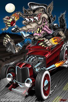Britt Madding: Hot Rod & Monster Artist | Gallery 2