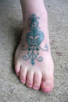 Erzulie veve tattoo