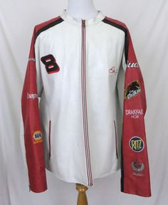 Wilsons Chase Jacket XXL Dale Earnhardt Jr #8 Nascar Racing Budweiser 2XL Coat #ChaseAuthentics