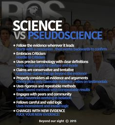 Pseudoscience vs Science Essay Sample