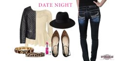 HYDRAULIC STYLE: Date Night. Get into the Valentine's Day spirit with a little leather, leopard print, a cute pink lipstick and of course your favorite Hydraulic Jeans!