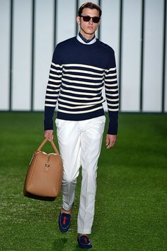 Hackett S/S 2015 Menswear Runway Show, via Vogue.co.uk