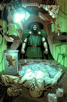 Dr. Doom by Billy Tan