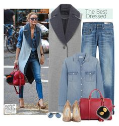 """""""Olivia Palermo"""" by makica-brate ❤ liked on Polyvore featuring rag & bone, J.Crew, Louis Vuitton, Fendi, Christian Dior, Jimmy Choo, GetTheLook, StreetStyle, Stealherstyle and OliviaPalermo"""