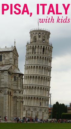 Information about visiting Pisa with kids and things to do in Tuscany and places to visit. www.wheressharon....