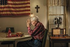 Photographer Dan Winters shows us the modern-day life of an unheralded World War II veteran