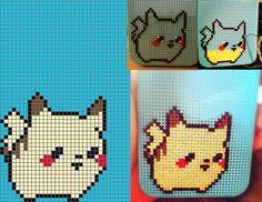 Cross Stitch Pikachu iPhone 4S Case by guttermuffins