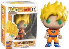 Funko POP! Dragon Ball Z: Super Saiyan Goku - Stylized Vinyl Figurine NEW