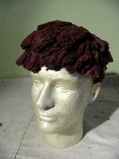 Tampon Toupee- Disturbing that people have time to do these things!