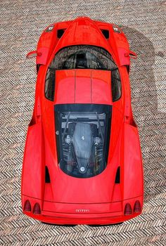 Visit The MACHINE Shop Café... ❤ Best of Ferrari @ MACHINE ❤ (Red Hot Ferrari Enzo Supercar)