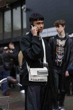 The Best of London Fashion Week Men's AW17 StreetStyle. - FGUK Magazine