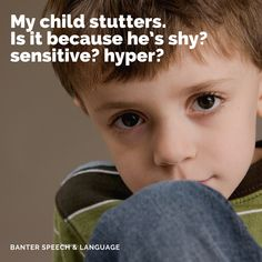 And why does my child's stuttering get worse when she's stressed out? Parents ask me sensible questions like these all the time, so I thought I'd post my thoughts here. Speech Language Pathology, Speech And Language, University Of Sydney, Cognitive Behavior, Social Anxiety, Stressed Out, My Children, This Or That Questions, My Boys