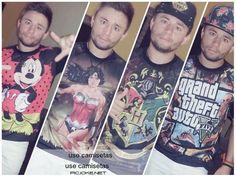 Adaelson Ferreira arrasou com sua coleção de Tshirts! ;)