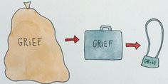 Artist Navigates Grief With Simple Yet Relatable Drawings About Life After Loss