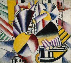 Fernand Léger: The Bargeman (1999.363.35)   Heilbrunn Timeline of Art History   The Metropolitan Museum of Art