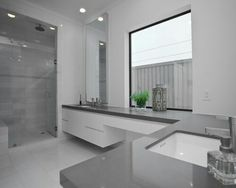 Silestone bathroom countertop