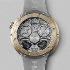 HYT H²O Time is Fluid : et c'est le temps qui coule Fine Watches, Watches For Men, Black Opal, Omega Watch, Accessories, Tic Tac, Clocks, Twitter, Collection