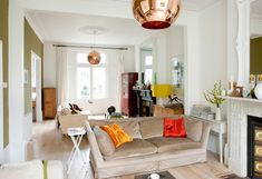 Opening Up Internal Spaces | Homebuilding & Renovating | Nice through room and layout idea