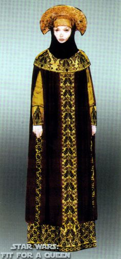 Padme travel gown